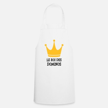 Dominos Domino / Dominoes / Game / Gamer / Puzzle - Cooking Apron
