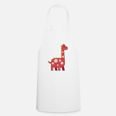 Primal happy dinosaur cuddly toy child sweet primal time - Cooking Apron