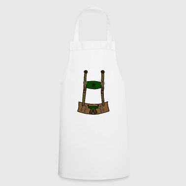 leather pants - Cooking Apron