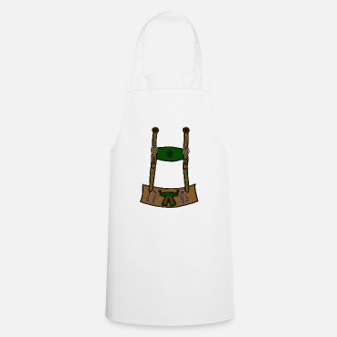 Leather leather pants - Cooking Apron