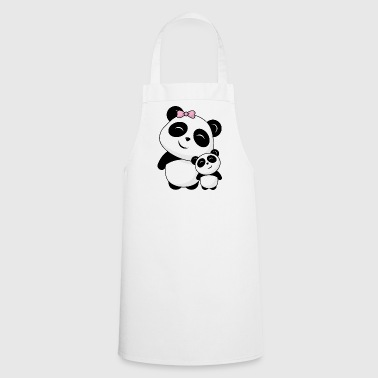Panda siblings - Cooking Apron
