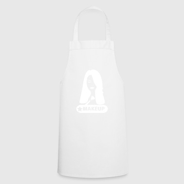 wite makeup - Cooking Apron