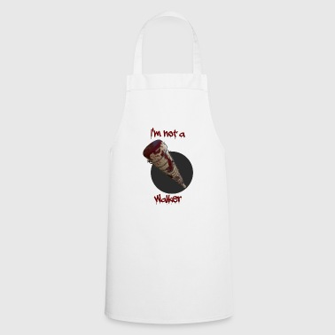 Baseball bat with barbed wire. - Cooking Apron