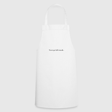Full Retard - Cooking Apron