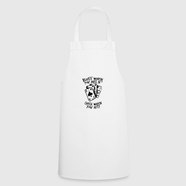 Poker - Bluff, Check, Bet - Cooking Apron