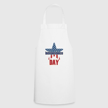 Independence Day 4 july USA - Cooking Apron