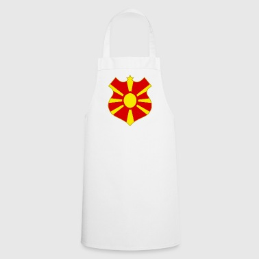macedonia shield - Fartuch kuchenny