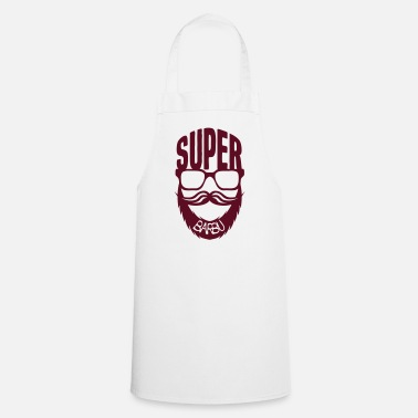 Barbe super barbu citation lunette barbe moust - Tablier de cuisine