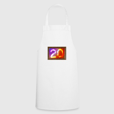 Date of birth 20 years - image - Cooking Apron