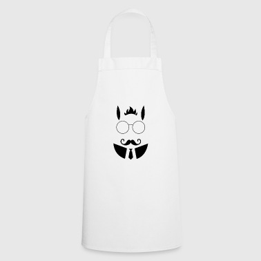 Hipster easter bunny easter - Cooking Apron