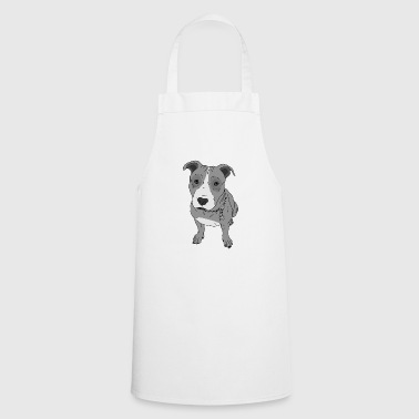 Dog look dog sweet Stafford gift idea - Cooking Apron