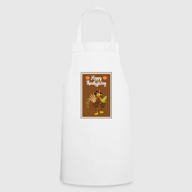 Thanksgiving turkey turkey thanksgiving - Cooking Apron