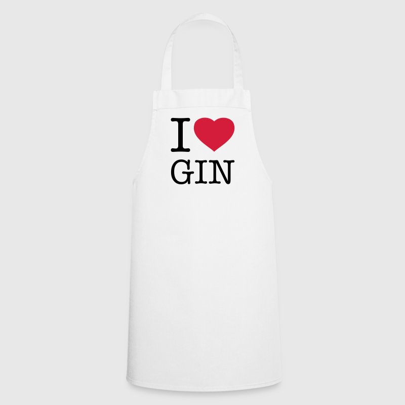 I LOVE GIN - Cooking Apron