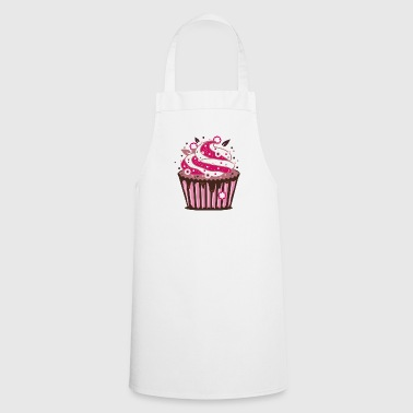 A cupcake with frosting - Cooking Apron