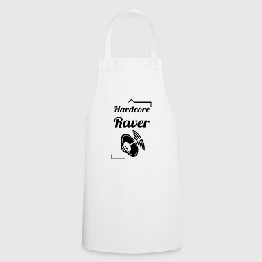Hard Core Raver - Tablier de cuisine
