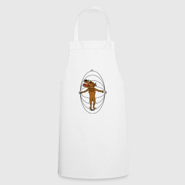 Dog with rope - Cooking Apron