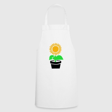 Sunflower Plant Garden Flora Funny Gift - Cooking Apron