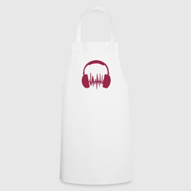 headphones loud - Cooking Apron