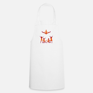 Group A Group Of Cheerleaders - Cooking Apron