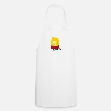 Charcoal charcoal - Cooking Apron