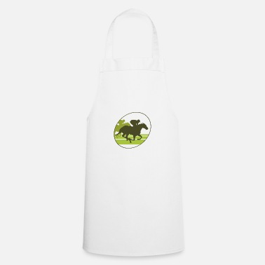Horse Racing horse race - Cooking Apron