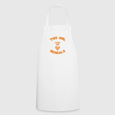 girl girl - Cooking Apron