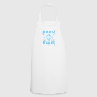 BORN TO FISH angle fishing 1975 - Cooking Apron
