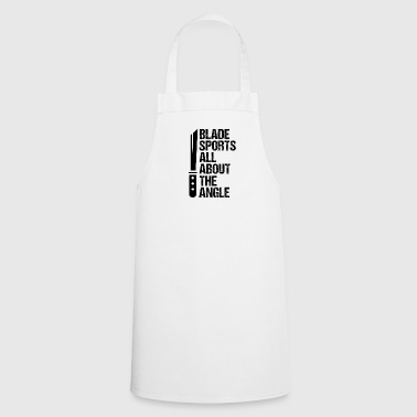 Blade Sports Knife Blades Sports Guns Jersey - Cooking Apron