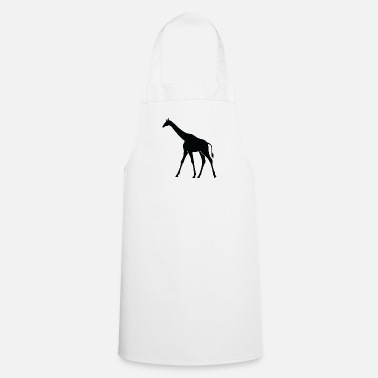 Large A Large Giraffe - Cooking Apron
