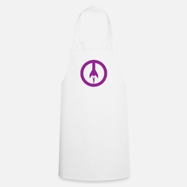 Missile Missile+peace - Cooking Apron