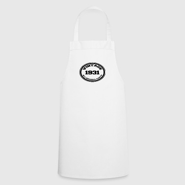 Year of birth / year 1931 - Cooking Apron
