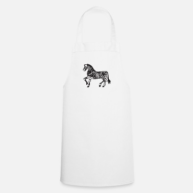 Illustration Illustration Zebra - Tablier de cuisine