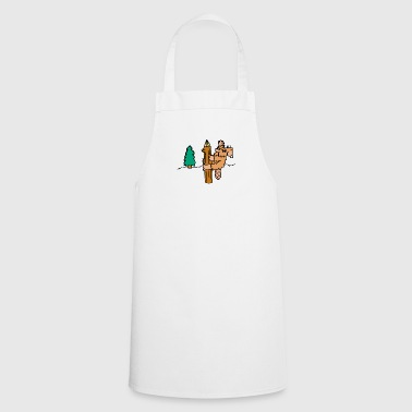 Rodent beaver biber rodent rodents wood water23 - Cooking Apron