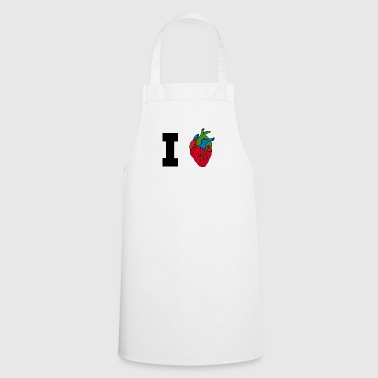 I love / heart / heart / hearts - Cooking Apron