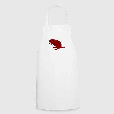 Rodent beaver biber rodent rodents wood water7 - Cooking Apron