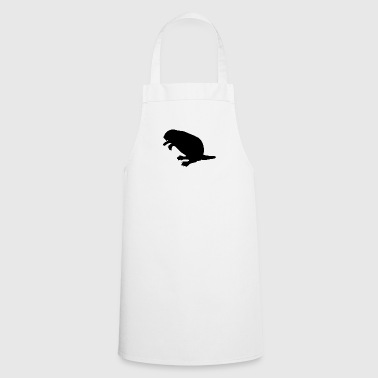 beaver biber rodent rodents wood water29 - Cooking Apron