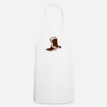 Cowboy Boots Boot cowboy western 1 - Apron