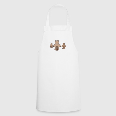 Rodent beaver biber rodent rodents wood water13 - Cooking Apron