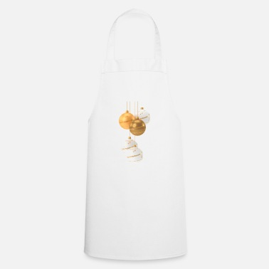 Decorated Christmas Decorations - Cooking Apron