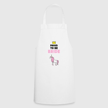 Hen party bride unicorn gift - Cooking Apron