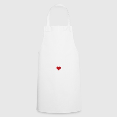 Bunny with Puschel heart / Easter bunny Easter bunny - Cooking Apron
