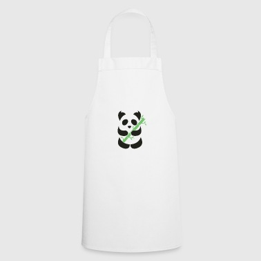 Panda with bamboo - Cooking Apron