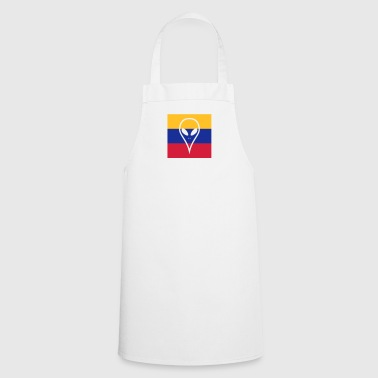 Ecuador country in South America Alien - Cooking Apron