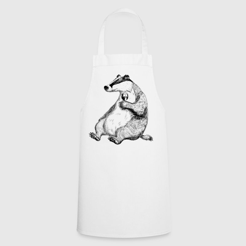 Badger with Wine - Cooking Apron