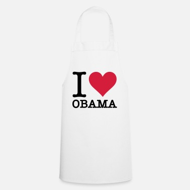 Obama Amo a Obama - Delantal de cocina