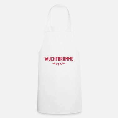Aggressive WOODEN BRUME (v) - Cooking Apron
