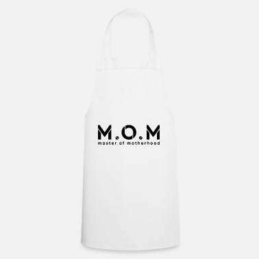 Household Geschenidee mother is a master in the household - Apron