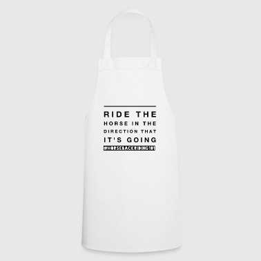 Horse Funny Horse Riding Gift for Horseback Riders and Equestrians - Cooking Apron
