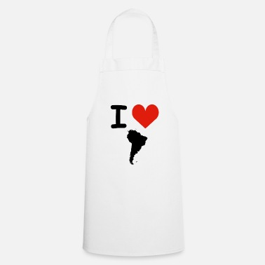 South America I Love South America - Cooking Apron