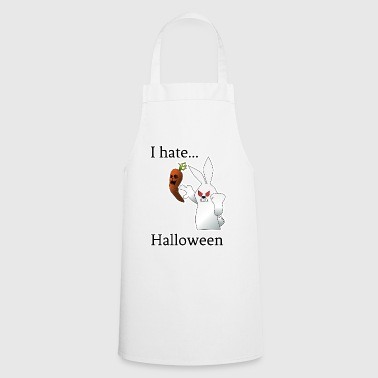I Hate I hate Halloween - love of hate - Cooking Apron